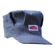 Child Striped Engineer Cap