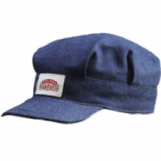 Adult Blue Denim Engineer Cap