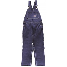 Zip Fly Denim Bib Overall